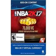 NBA2K17- 75,000 VC - PS4 HU Digital