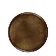 ZELDA Under plate - Vintage brass