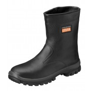 EMMA Lederen Laarzen S3 (Gevoerd) - Zwart - Size: 38