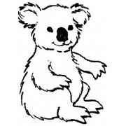 Perma Stempel Holzstempel - Koala (Design 2)