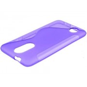 Wave Case for LG K4 (2017) - LG Soft Cover (Purple)