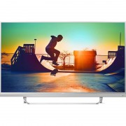 "LED TV PHILIPS 49"" 49PUS6482/12 UHD SMART SILVER"
