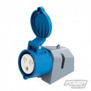 Průmyslová zásuvka nástěnná 32 A - 240V 3 Pin 457049 5024763028359 PowerMaster