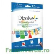 Benzi Pentru Spalat Dizolve Parfum Detergent Ultra Concentrat Pentru Spalat Rufe 32 Spalari SmarthPatch