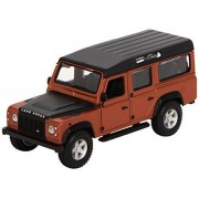 Bburago - 2043157 - Véhicule Miniature - Modèle À L'échelle - Land Rover Defender 110 - Gris Métallisé - Echelle 1/32-Bburago