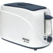 Inalsa Crispo 700 W Pop Up Toaster(White, Grey)