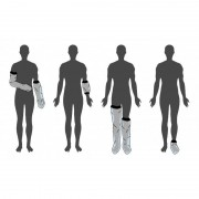 Limbo Housse de protection Pied-40 cm- Circonf 23-34 cm