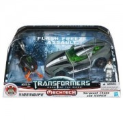 Transformers 3 Dark of the Moon Human Alliance Exclusive Flash Freeze Assault Sideswipe with Sergeant Chaos Icepick
