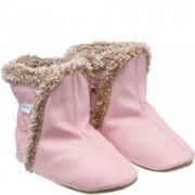 Robeez Rózsaszín bélelt puhatalpú kiscsizma 0-6 hó