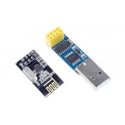NOYITO CH340T USB to Serial Port Adapter Board + 2.4G NRF24L01 Wireless Module Power Plus Combination Kit
