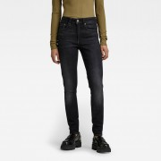 G-star RAW Femmes Jean 3301 High Skinny Noir