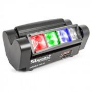 Beamz MHL820, 24 W, светлинни ефекти с двойни лъчи, 8 x 3 W RGBW LED, DMX, инфрачервено дистанционно управление (150.303)