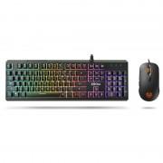 nox Krom Kaleido Kit Teclado (PT) e Rato Gaming RGB