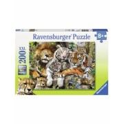 Puzzle Tigri, 200 Piese Ravensburger