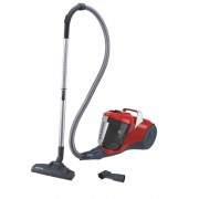 Aspirator fara sac Hoover BR11 011, 700 W, 2 L, Filtru EPA, Accesoriu 2-in-1, Rosu 39002164