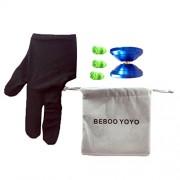 Generic Beboo Yo Yo S1 PRO Aluminium Alloy Magic Yo Yo with Case Glove Set Kids Gifts Outdoor Toy