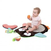 Baby Tummy Time Activity Mat, Godr Plush Critters Prop & Play Peek Crawling Playing Rug Cushion Pillow Pad Gift 27.17""