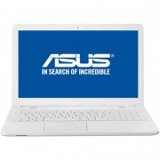 Laptop Asus VivoBook Max X541UA-GO1256, 15.6 HD LED Glare, Intel Core i3-7100U, RAM 4GB DDR4, HDD 500GB, EndlessOS, White + CADOU Geanta Asus Nereus