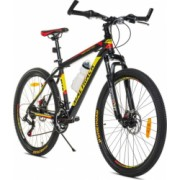 Bicicleta Mountain Bike roti 26 inch 18 viteze Shimano cadru aluminiu 18 inch suspensie pe arc frane pe disc MalTrack