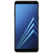 Telefon Mobil Samsung Galaxy A8 (2018), 32GB Flash, 4GB RAM, Dual SIM, 4G, Black