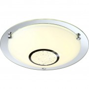 GLOBO LED-plafondlamp AMADA glas 48240