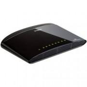 D-Link Síťový switch D-Link, DES-1008D, 8 portů, 100 Mbit/s