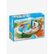 Playmobil 9422 Piscina, da Playmobil azul claro liso