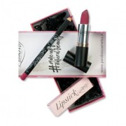 PUROBIO COSMETICS COFANETTO REGALO: Lipstick n.04 Fragola + MATITA OCCHI/LABBRA n.38 Fragola