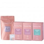 TummyTox Programa Corpinho Elegante para 20 dias: 20 bolsinhas de chá + 15x bebida queima gordura + 20x bebida drenante para remodelar o teu corpo.
