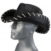 klobouk WORNSTAR - Hellrider HS Black Rocker Cowboy - WSH-102-HDKHS
