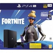 Consola Hardware Sony Playstation 4 Pro, Fortnite Neo Versa Bundle, 1TB, Jet Black