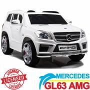 Mercedes GL 63 Licencirani auto na akumulator za decu beli (SL 628 beli)