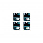 Combo Cartucho HP 564 Negro + HP 564 Cian + HP 564 Amarillo + HP 564 Magenta