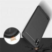 Husa Carbon Design Forcell pentru Motorola Moto G5S Black