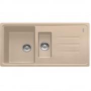 Chiuveta fragranite BSG 651, 970x500mm, reversibila, avena