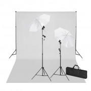 vidaXL Iluminação de estúdio fotografia 600 x 300 cm