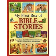 My First Box of Bible Stories: Tales from the Old and New Testament Retold in Six Charming Boardbooks, Hardcover/Jan Lewis