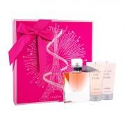 Lancôme La Vie Est Belle confezione regalo Eau de Parfum 50 ml + 50 ml lozione per il corpo + 50 ml doccia gel da donna