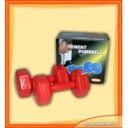 Plastic dumbell 2 kg (pereche)
