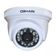 Kамера AHD за вътрешен монтаж с IR подсветка, 1/4 HD CMOS, 1.0MP, 720P, инфрачервен обхват - 20м, вграден обектив 3.6mm, 24 LEDs, QH-3505HC-N