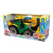 Óriás markolós traktor dobozban LENA-02080