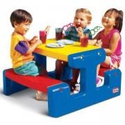 Маса за пикник - Синя - Little Tikes, 320013