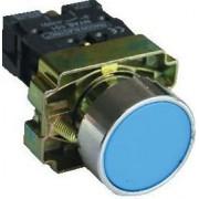 Buton simplu , albastru - 1xNO, 3A/240V AC, IP42 NYGBA61K - Tracon