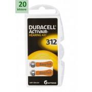 DURACELL 312 ActivAir -20 blistere