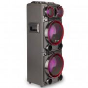 Altavoz Premium Ngs Wild Punk 1 300w/ Subwoofer 8'' X2/ Usb/ Sd/ Bluetooth/ Radio Fm
