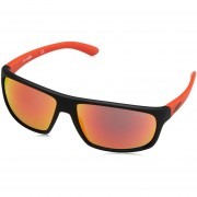 Lentes Arnette Burnout Fuzzy Black Red Mirror AN4225 23766Q