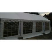 Classic Plus Partytent PVC 4x8x2 mtr in Grijs