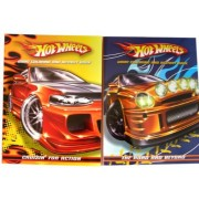 Mattel Hot Wheels Coloring and Activity Books (2 pcs set) Assorted