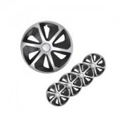 ProPlus Copricerchi set Roco argento/nero 14 pollici 4 pezzi in scatola di presentazione 310872S