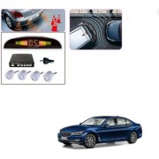 Auto Addict Car Silver Reverse Parking Sensor With LED Display For BMW 7 Series